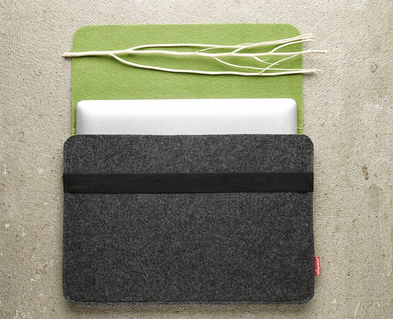 Van Moose Laptop bag green
