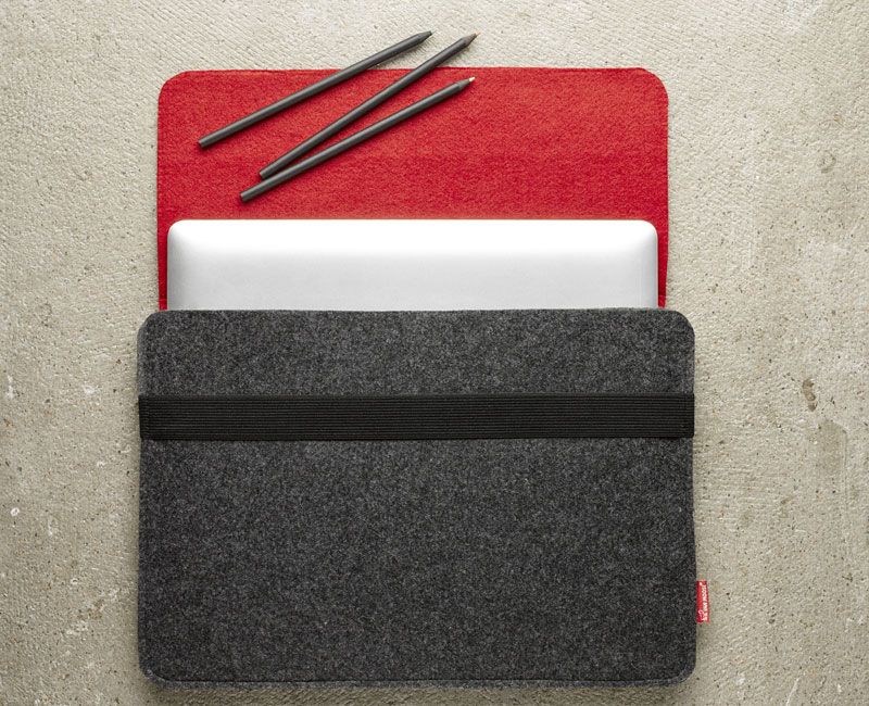 Van Moose Laptop bag red