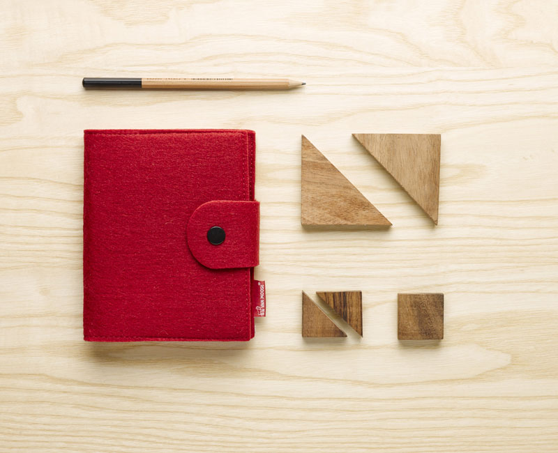 Van Moose Notebook, red