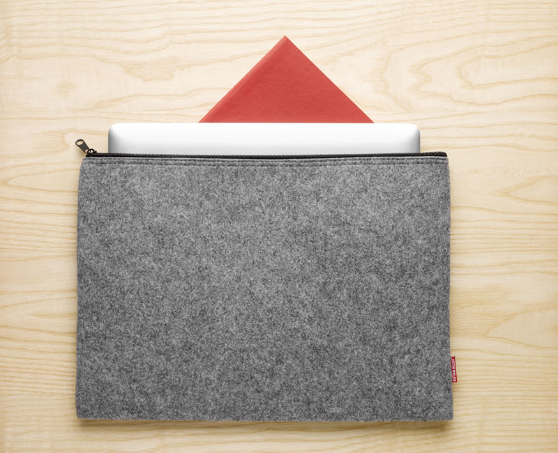 Van Moose large pouch, grey