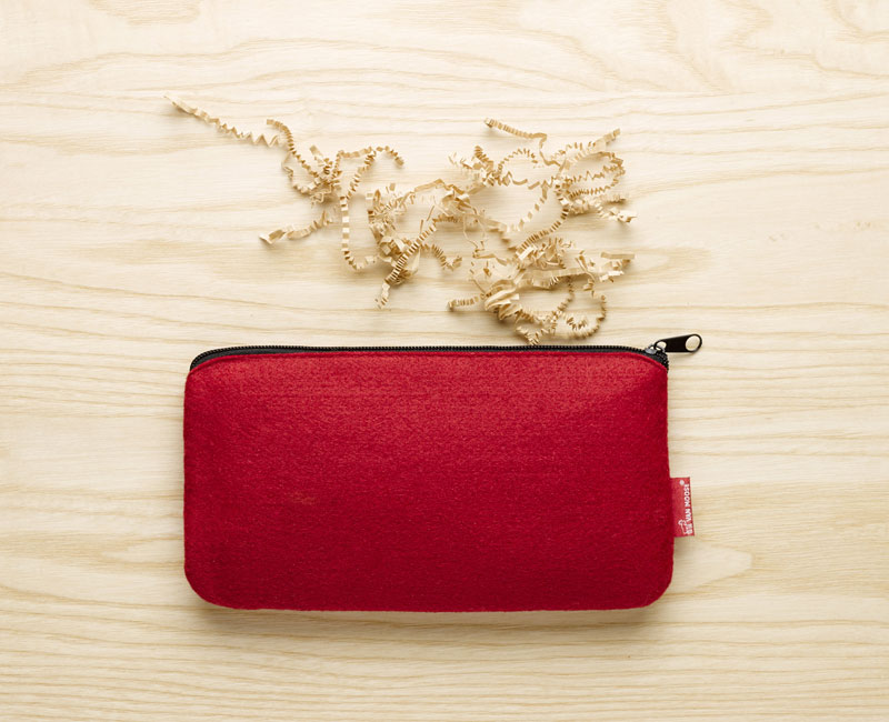 Van Moose small pouch, red